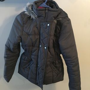 Puffy winter jacket